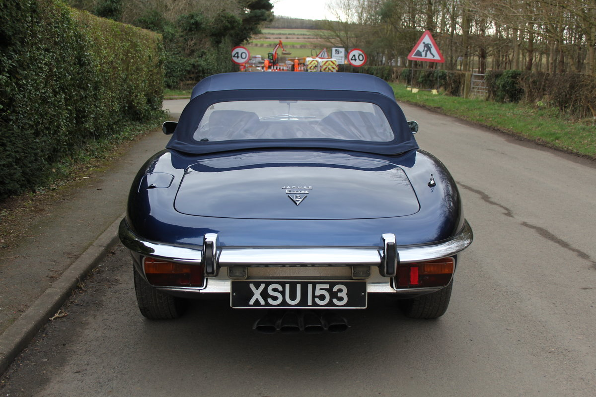 1973 Jaguar E-Type Series III V12 Vicarage Roadster For Sale (picture 5 of 21)