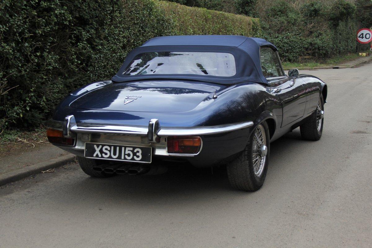 1973 Jaguar E-Type Series III V12 Vicarage Roadster For Sale (picture 6 of 21)