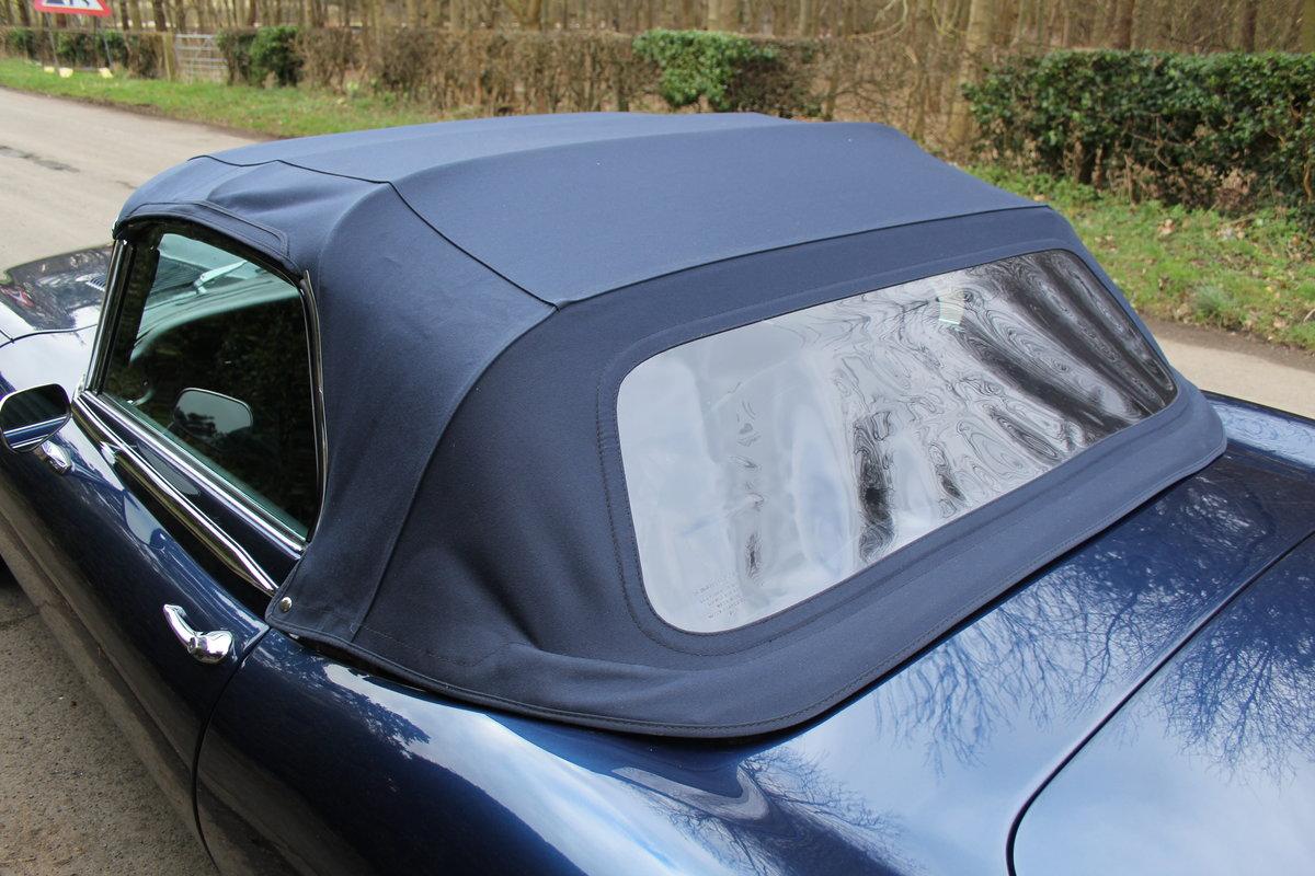 1973 Jaguar E-Type Series III V12 Vicarage Roadster For Sale (picture 19 of 21)
