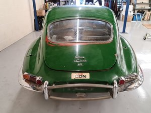 Picture of 1967 Jaguar 1.25 2 plus 2 manual restoration project. SOLD
