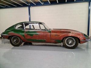 For sale 1967 Series 1.25 Jaguar 2 plus 2. SOLD