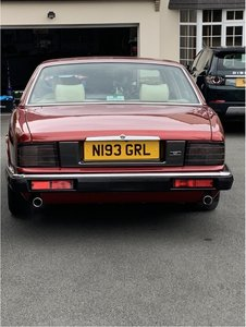 Very rare XJ40 XJR - one of last two registered