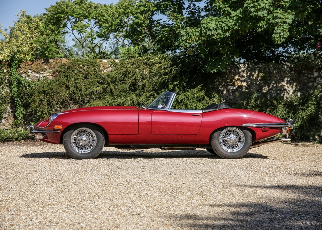 1968 Jaguar E-Type Series II Roadster SOLD by Auction (picture 1 of 6)