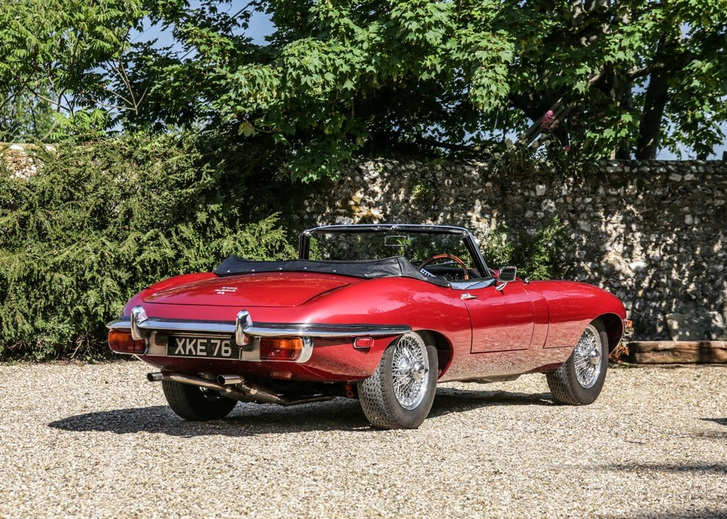 1968 Jaguar E-Type Series II Roadster SOLD by Auction (picture 2 of 6)