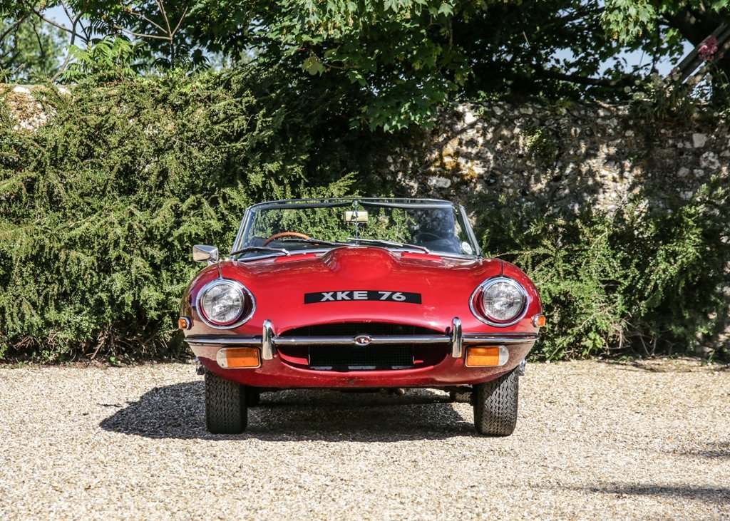 1968 Jaguar E-Type Series II Roadster SOLD by Auction (picture 5 of 6)
