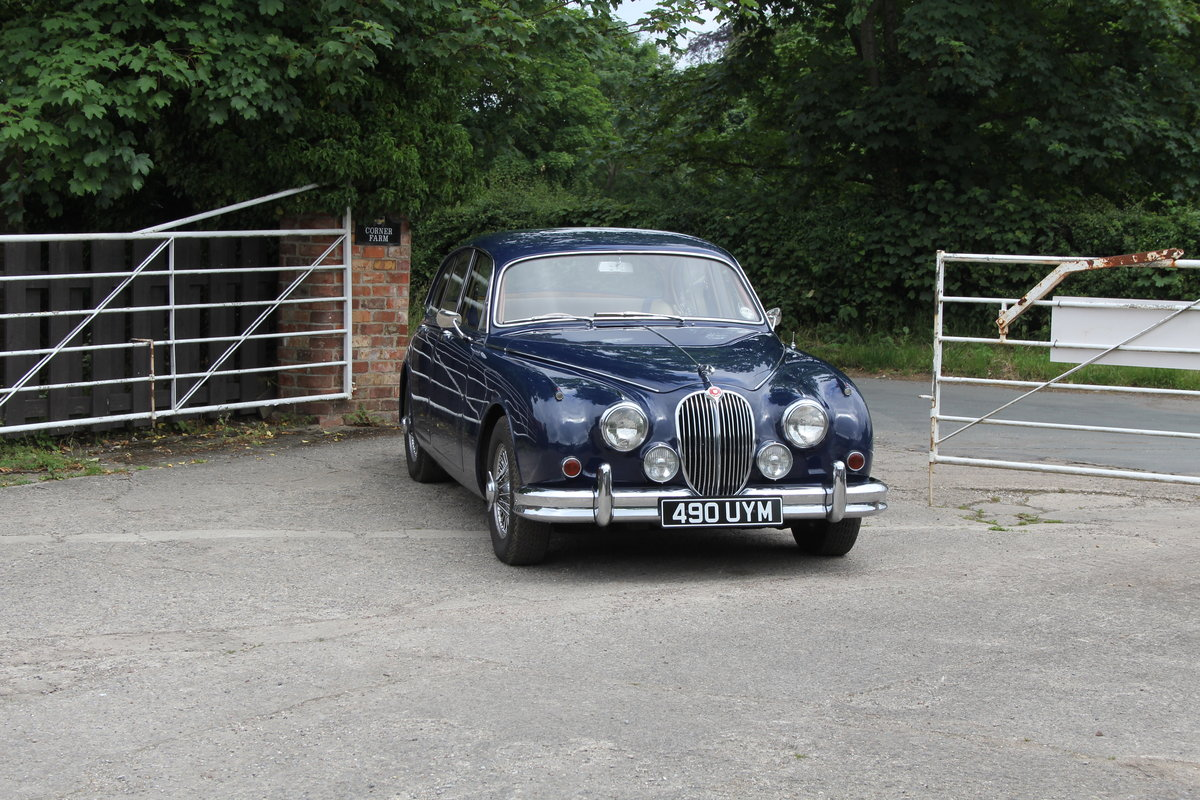 1962 Jaguar MKII 3.4 Manual O/D - 5000 miles of recent touring For Sale (picture 1 of 20)
