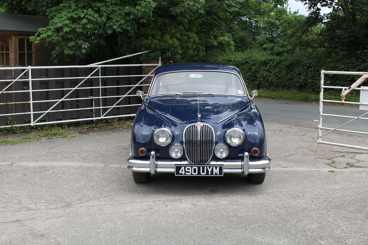 1962 Jaguar MKII 3.4 Manual O/D - 5000 miles of recent touring For Sale (picture 2 of 20)