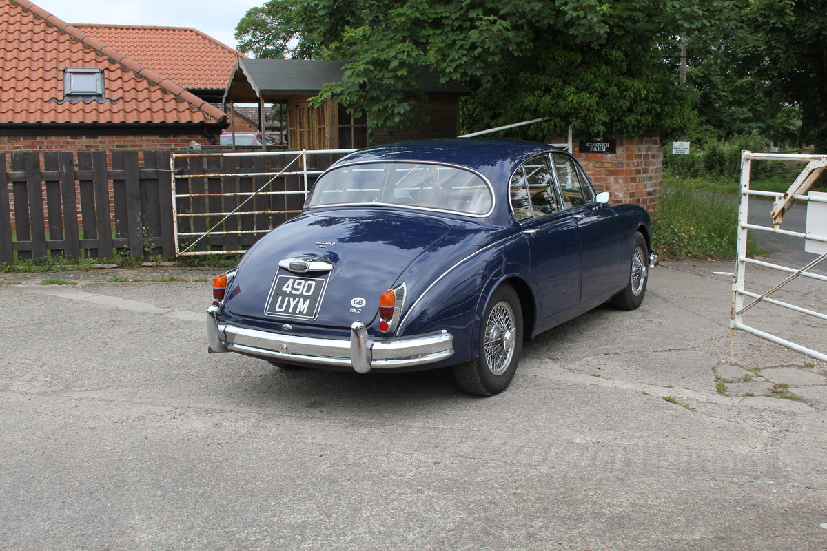 1962 Jaguar MKII 3.4 Manual O/D - 5000 miles of recent touring For Sale (picture 6 of 20)