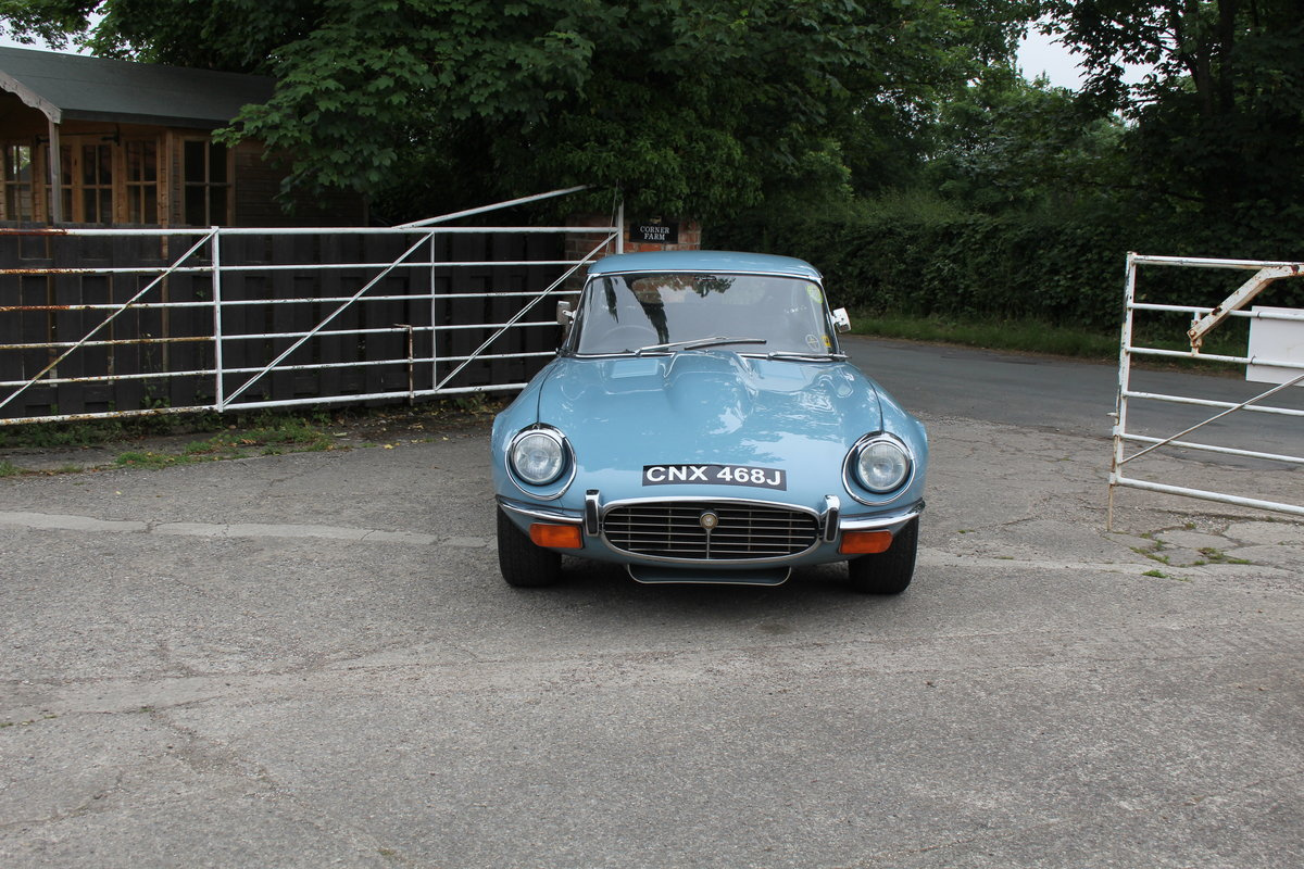 1971 Jaguar E-Type V12 Manual UK car, 51k miles, history from new For Sale (picture 2 of 16)