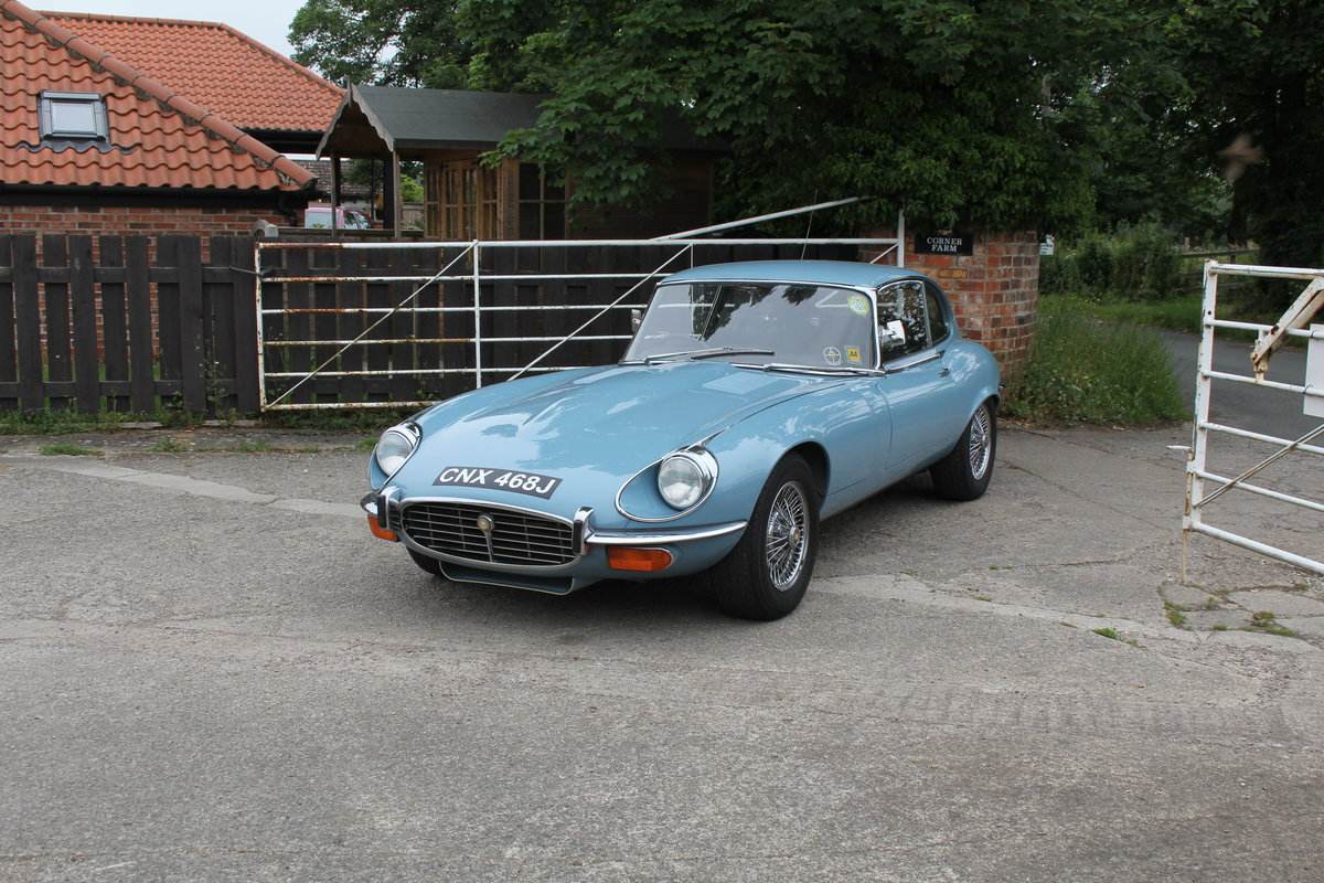 1971 Jaguar E-Type V12 Manual UK car, 51k miles, history from new For Sale (picture 3 of 16)