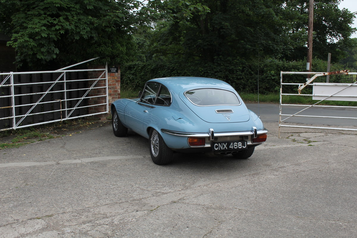 1971 Jaguar E-Type V12 Manual UK car, 51k miles, history from new For Sale (picture 4 of 16)