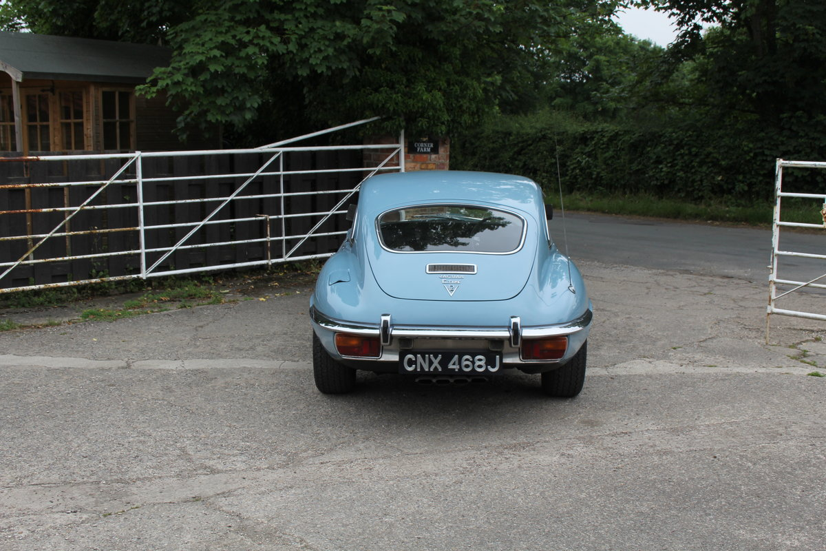1971 Jaguar E-Type V12 Manual UK car, 51k miles, history from new For Sale (picture 5 of 16)