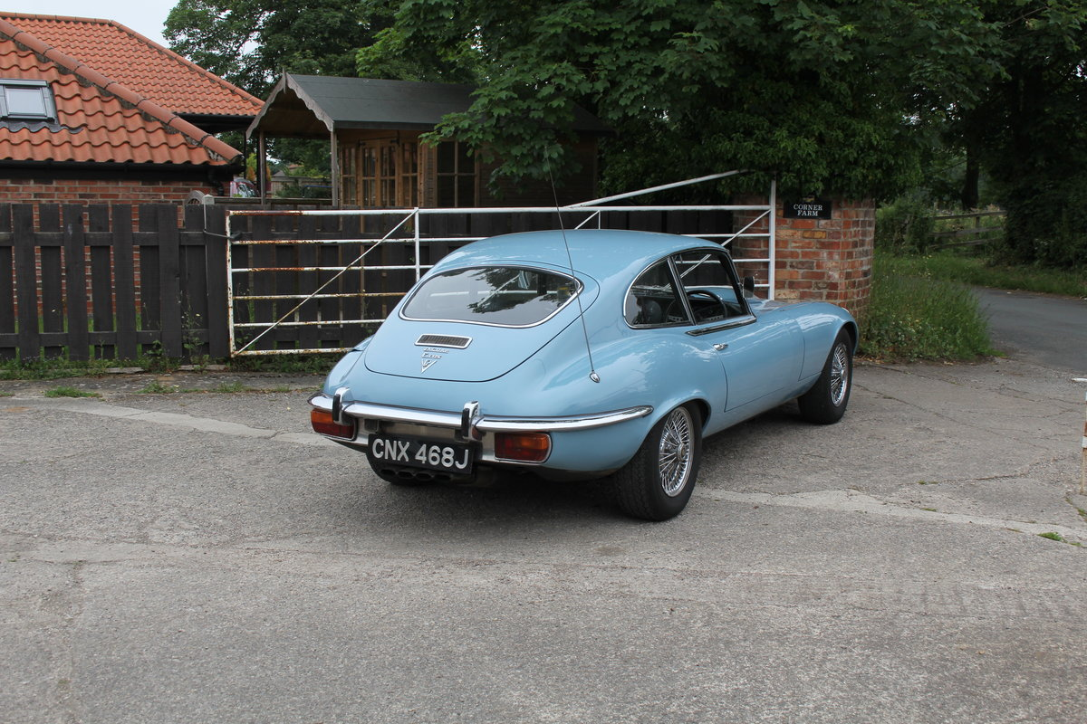1971 Jaguar E-Type V12 Manual UK car, 51k miles, history from new For Sale (picture 6 of 16)