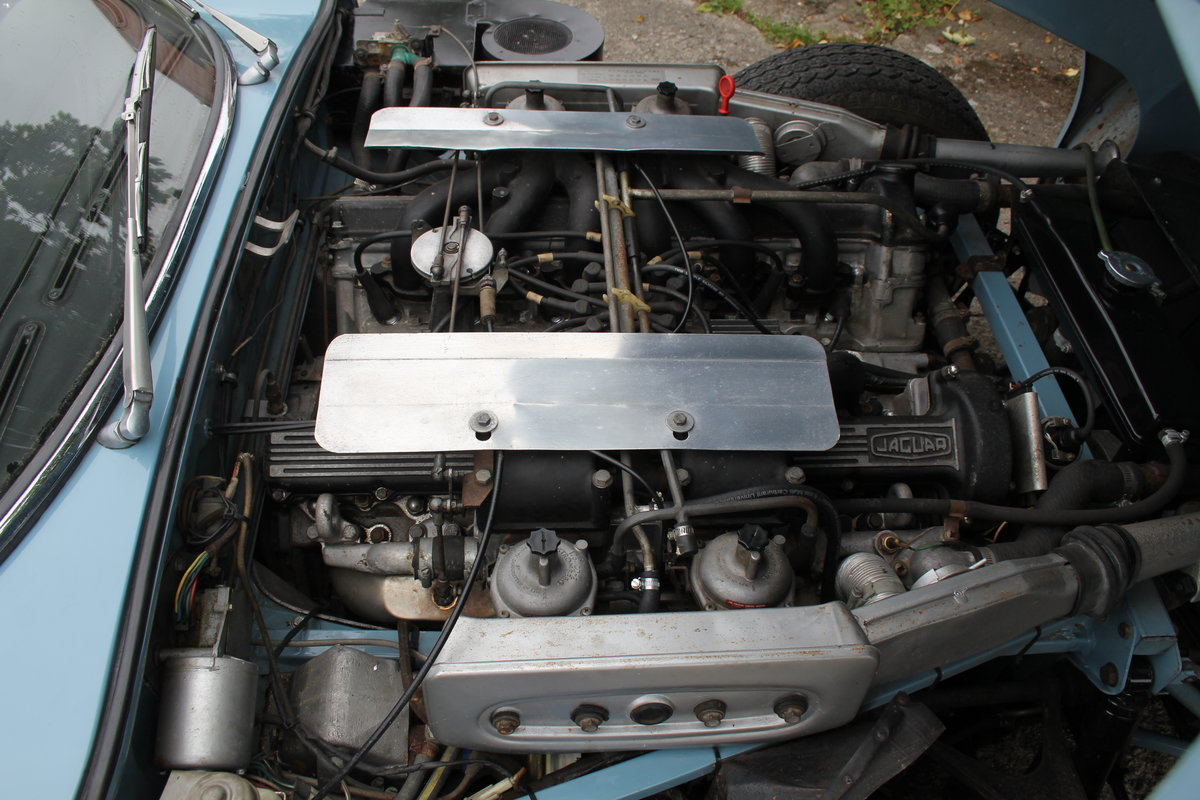 1971 Jaguar E-Type V12 Manual UK car, 51k miles, history from new For Sale (picture 14 of 16)