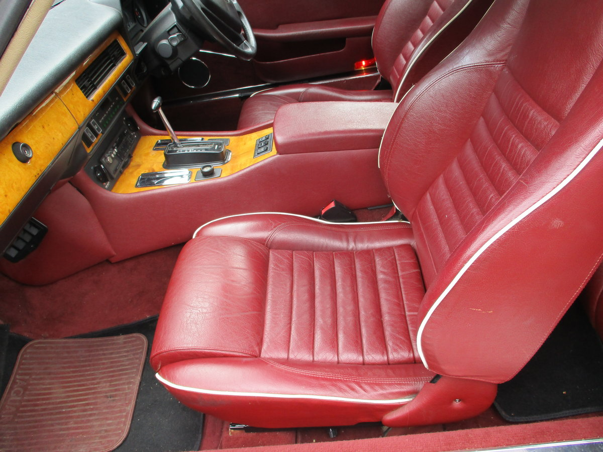 Jaguar XJS 3.6 AUTO 1990 STUNNING RARE ELECTRIC SUNROOF MDL  For Sale (picture 3 of 16)