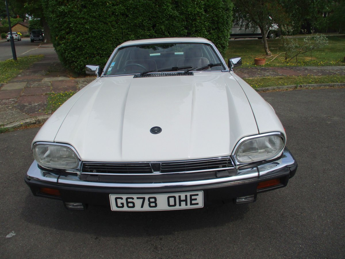 Jaguar XJS 3.6 AUTO 1990 STUNNING RARE ELECTRIC SUNROOF MDL  For Sale (picture 7 of 16)