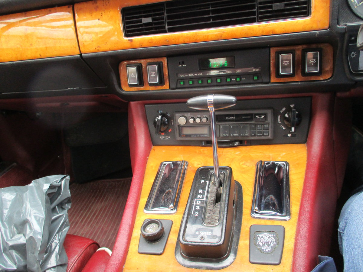 Jaguar XJS 3.6 AUTO 1990 STUNNING RARE ELECTRIC SUNROOF MDL  For Sale (picture 14 of 16)