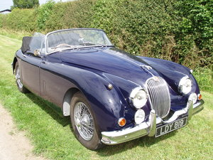 1958 Jaguar XK150 SE Drop-head coupe For Sale