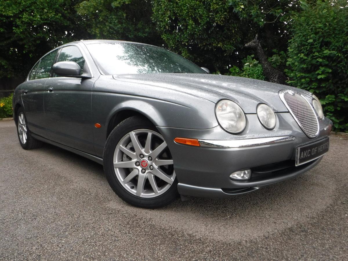 Jaguar S-Type 4.2 V8 SE 4dr 2002 52 Petrol Auto 35,000 MILES For Sale (picture 1 of 6)