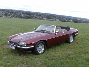 1991 Jaguar XJS V12 Convertible Owned for Ten Years