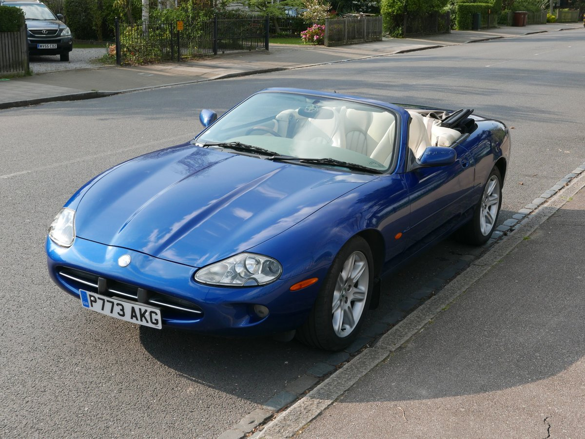 1997 XK8 Convertible  SOLD (picture 1 of 6)