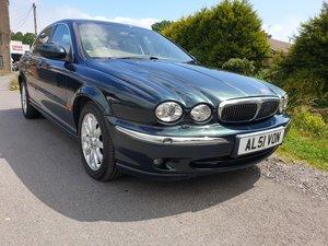 2002 Jaguar X Type 2.5 V6 SE Saloon Auto low mileage ** 50011 **