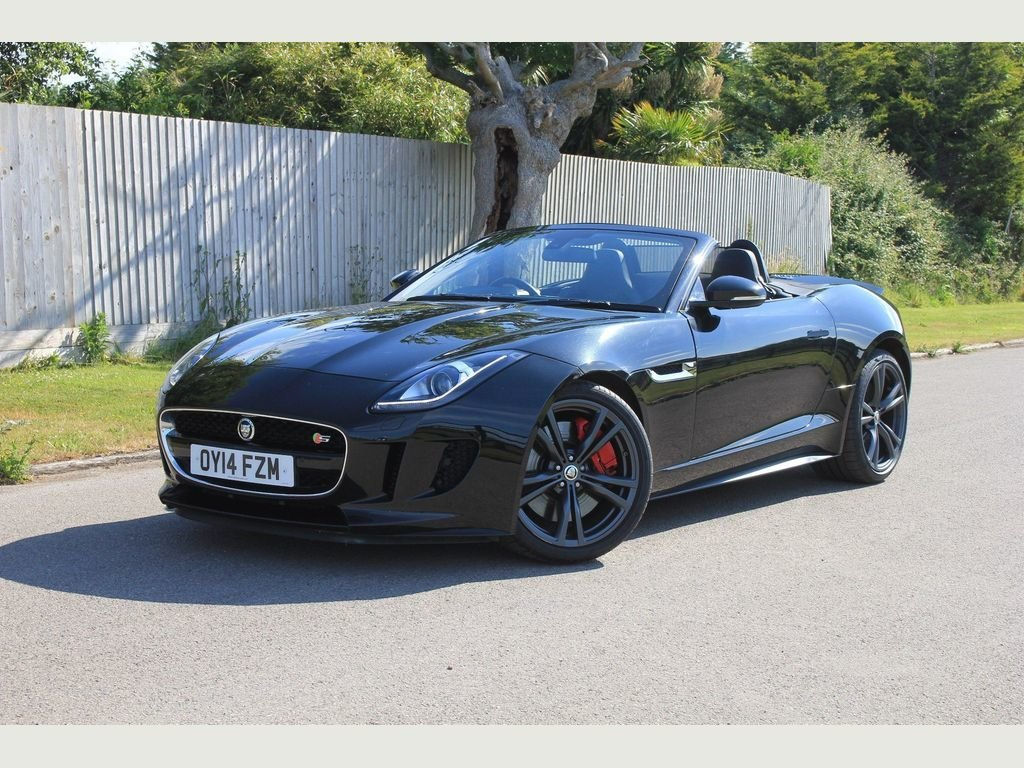 2014 Jaguar F-Type 5.0 V8 S Quickshift 2dr SPORTS EXHAUST, SPORTS For Sale (picture 1 of 1)