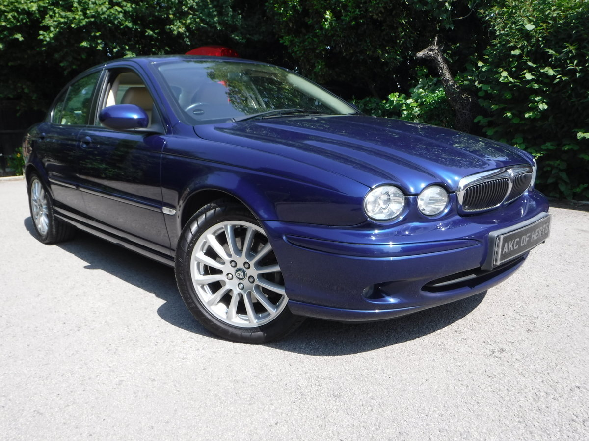 2005 Jaguar X-Type 2.5 V6 S (AWD) 4dr 46,000 MILES FROM NEW For Sale (picture 1 of 6)