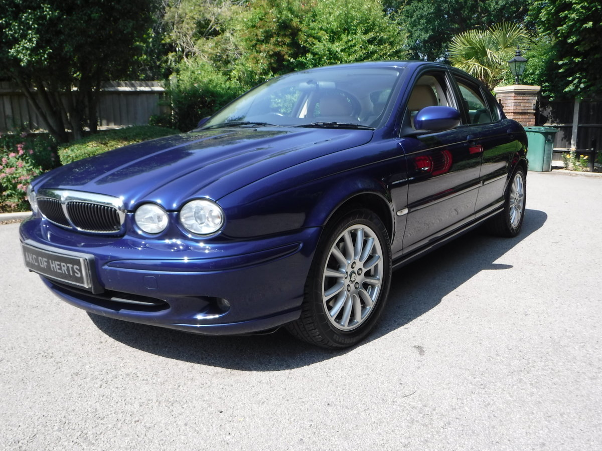2005 Jaguar X-Type 2.5 V6 S (AWD) 4dr 46,000 MILES FROM NEW For Sale (picture 2 of 6)