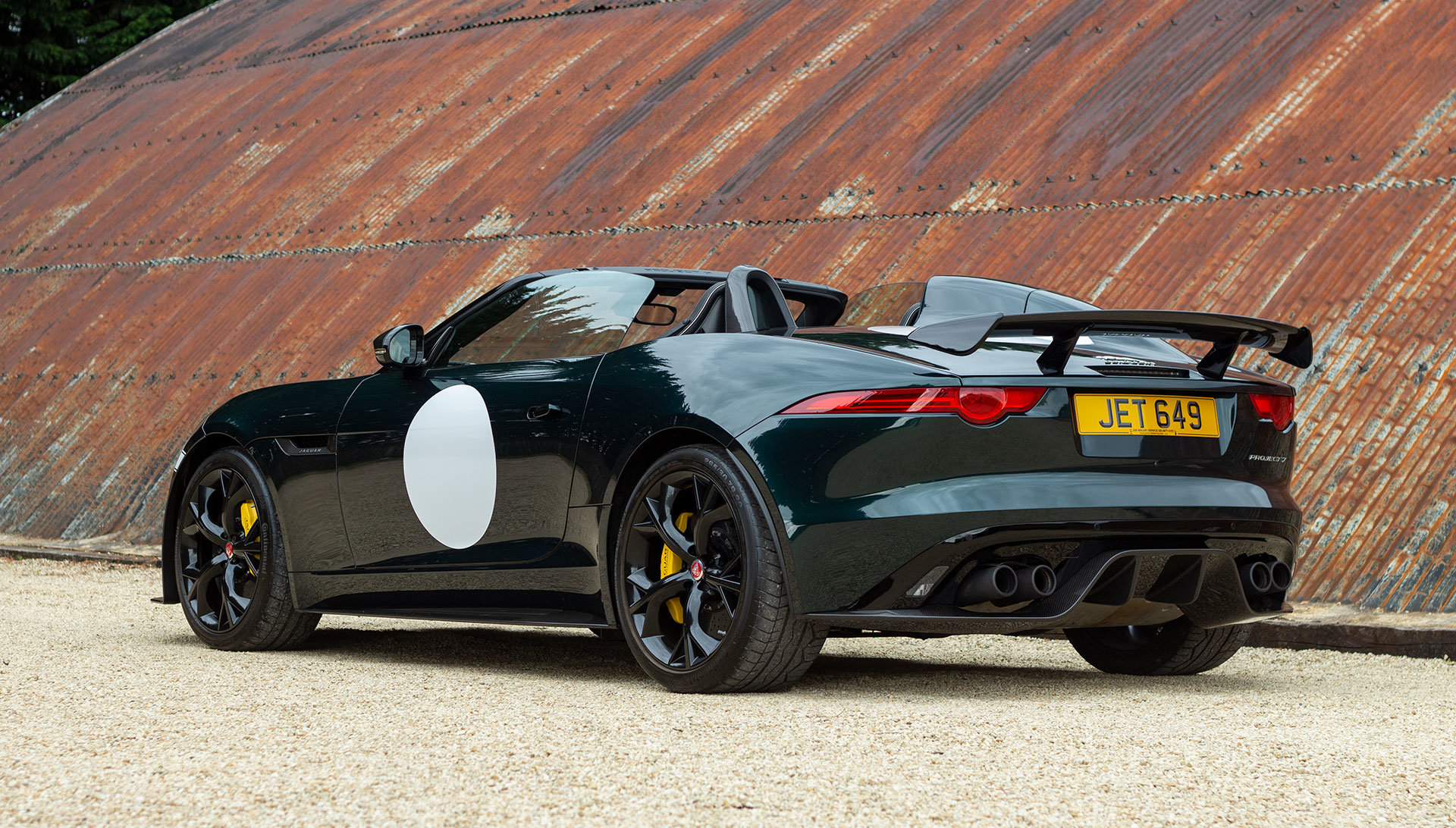 2016 Jaguar Project 7 - 1 of 80 RHD, 1,400 miles SOLD (picture 3 of 24)