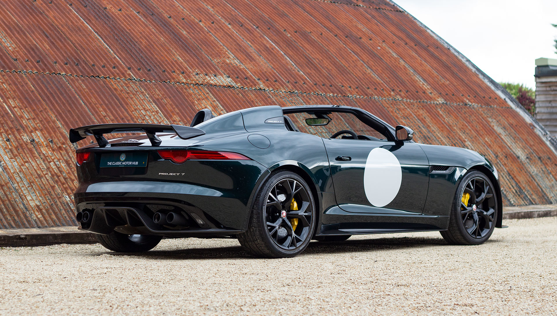 2016 Jaguar Project 7 - 1 of 80 RHD, 1,400 miles SOLD (picture 7 of 24)