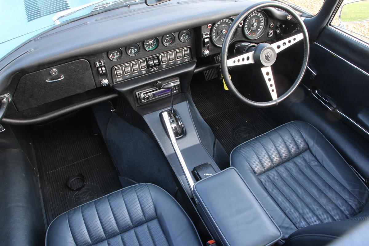 1971 Jaguar E Type V12 Series 3 auto  For Sale (picture 13 of 20)