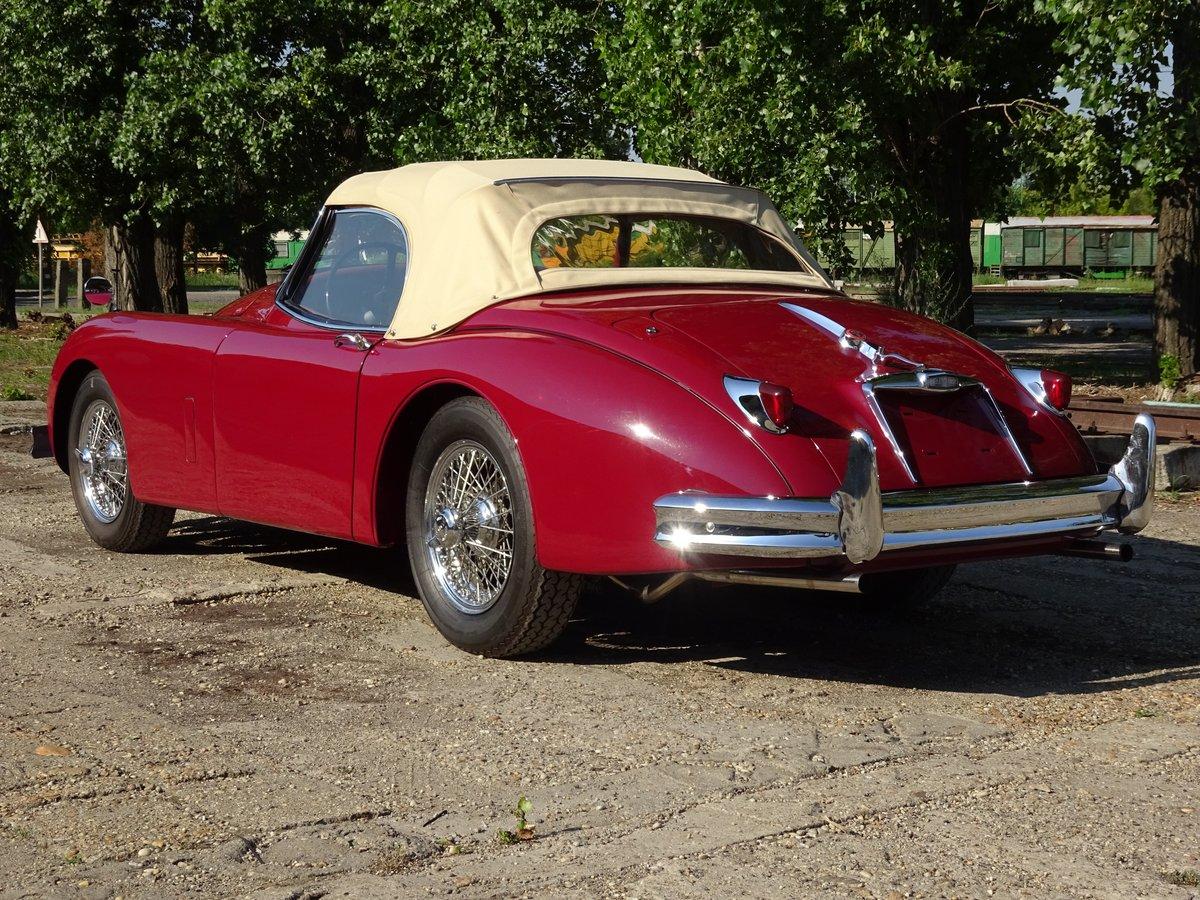 1958 Jaguar XK150 3.4 SE OTS - completely restored For ...