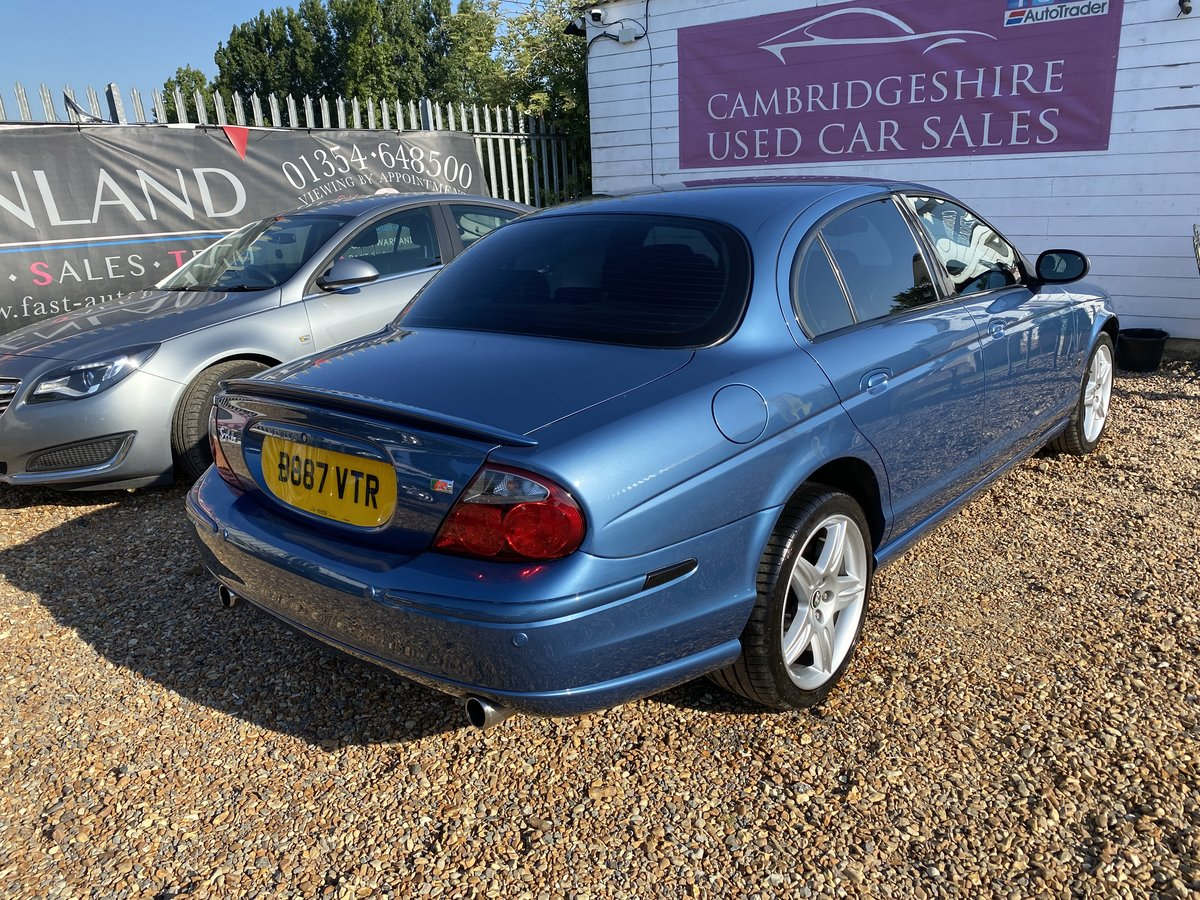 2003 Jaguar S-Type 4.2 V8 R 4dr For Sale (picture 3 of 6)