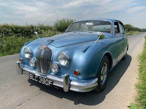 Jaguar mk2 3.4/340 manual