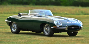 1961 Jaguar E type Flat Floor Open Top Sports, Left Hand Dri