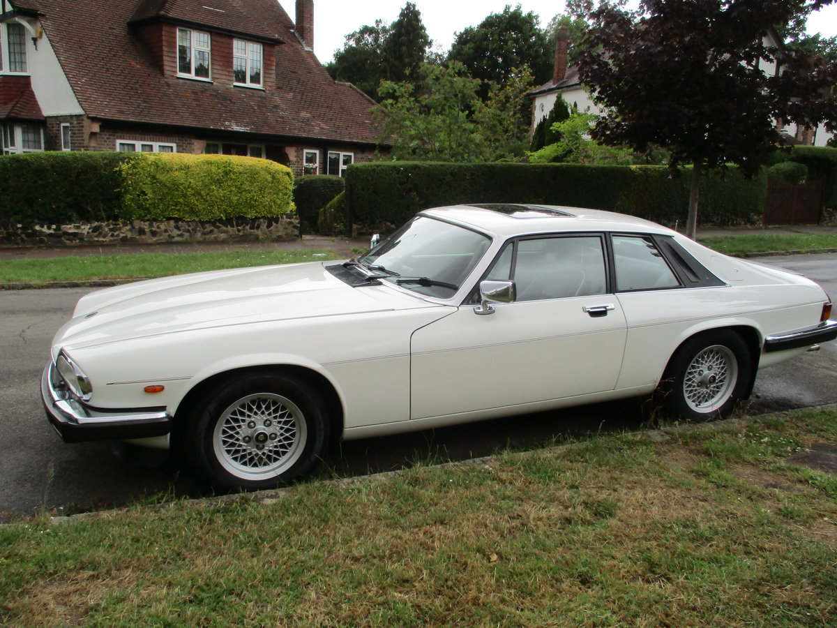 Jaguar XJS 3.6 AUTO 1990 STUNNING RARE ELECTRIC SUNROOF MDL  For Sale (picture 2 of 16)