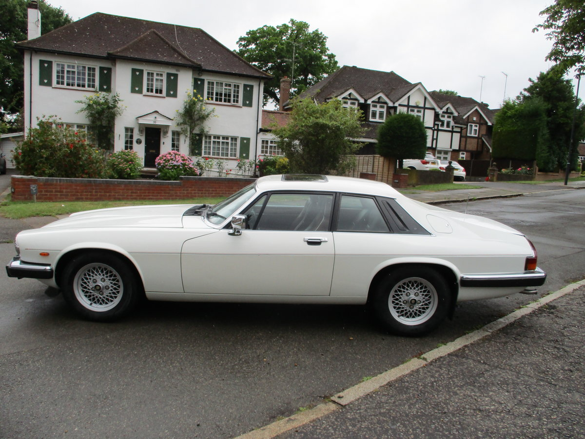 Jaguar XJS 3.6 AUTO 1990 STUNNING RARE ELECTRIC SUNROOF MDL  For Sale (picture 8 of 16)