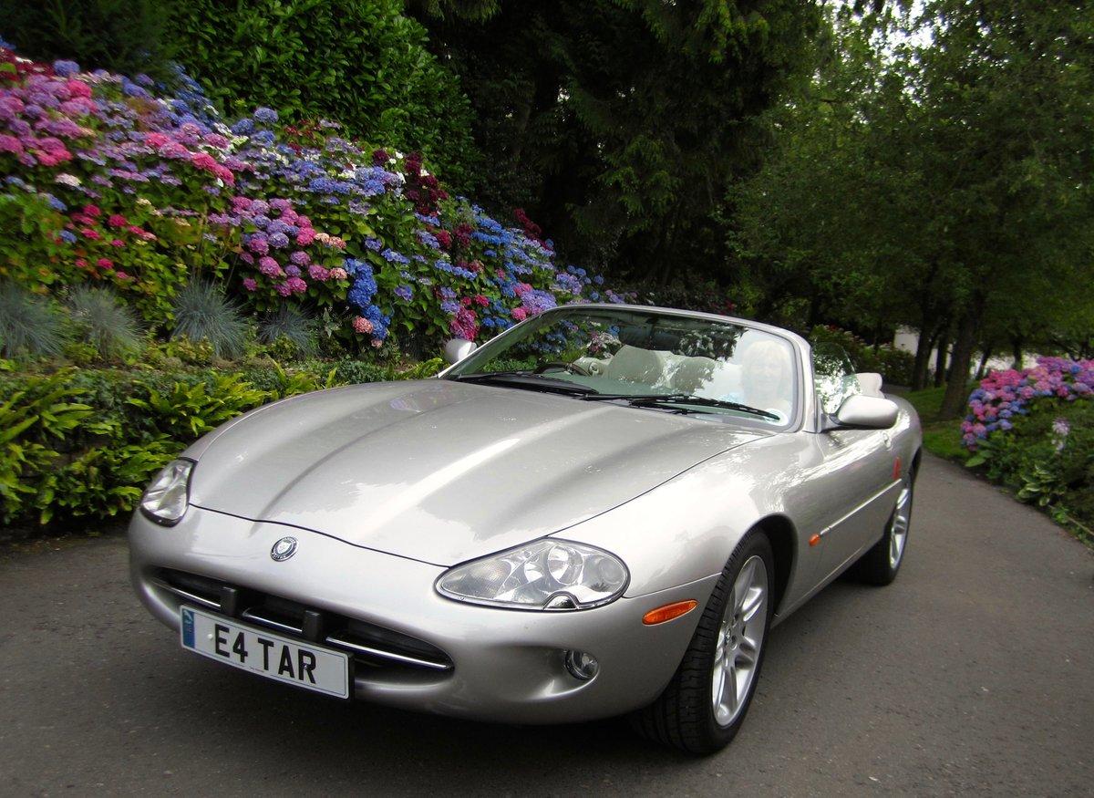1998 Jaguar XK8 Convertible Mot 11/04/2021 For Sale (picture 1 of 5)