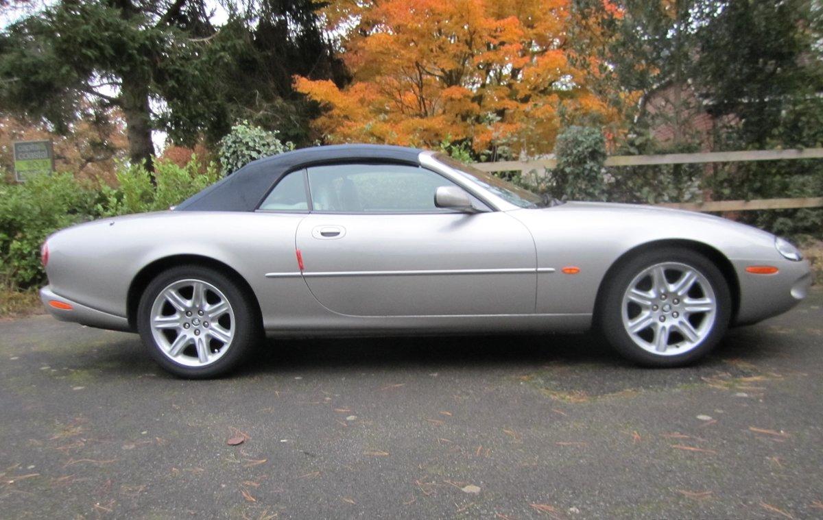1998 Jaguar XK8 Convertible Mot 11/04/2021 For Sale (picture 2 of 5)
