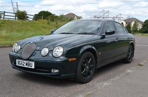 JAGUAR S TYPE V6 SPORT MANUAL SPECIAL ORDER