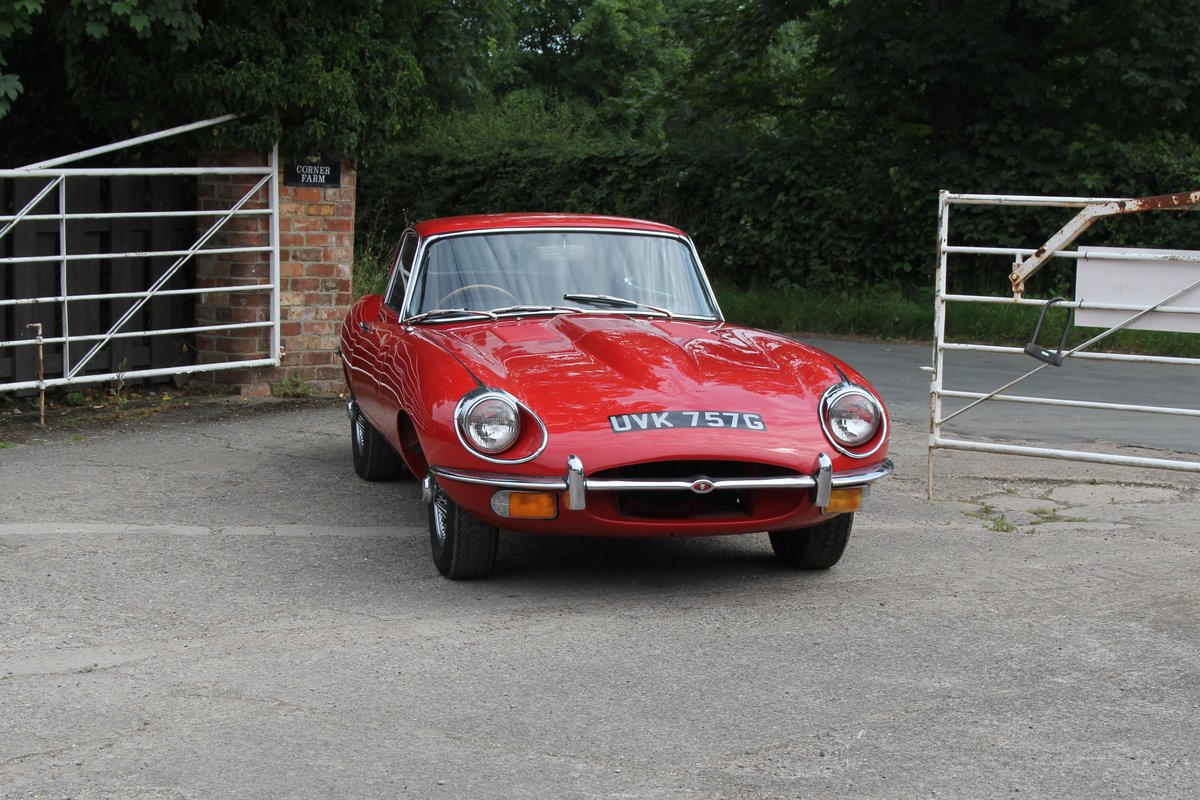 1969 Jaguar E-Type Series II 4.2 FHC, UK Matching No's For Sale (picture 1 of 17)