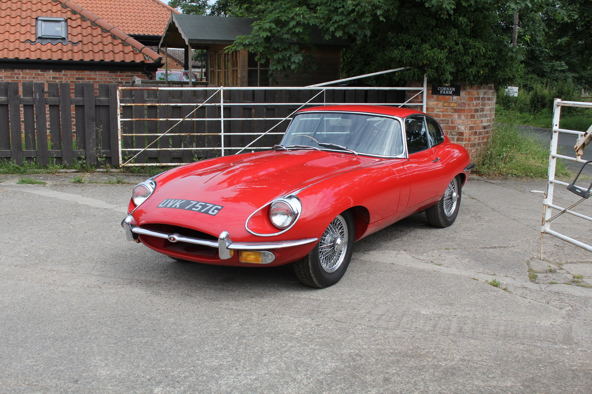1969 Jaguar E-Type Series II 4.2 FHC, UK Matching No's For Sale (picture 3 of 17)