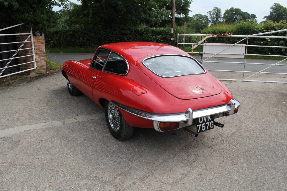 1969 Jaguar E-Type Series II 4.2 FHC, UK Matching No's For Sale (picture 4 of 17)