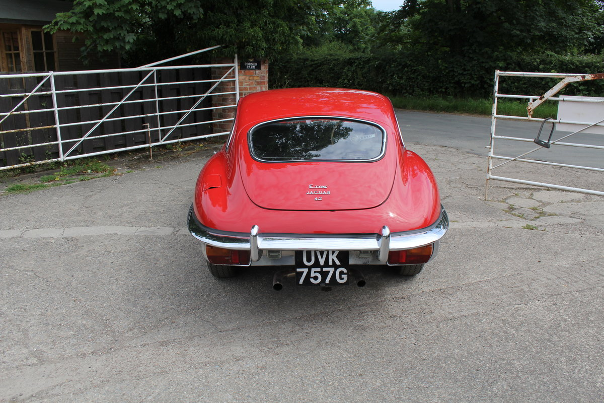 1969 Jaguar E-Type Series II 4.2 FHC, UK Matching No's For Sale (picture 5 of 17)