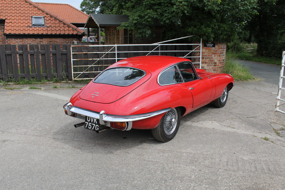 1969 Jaguar E-Type Series II 4.2 FHC, UK Matching No's For Sale (picture 6 of 17)