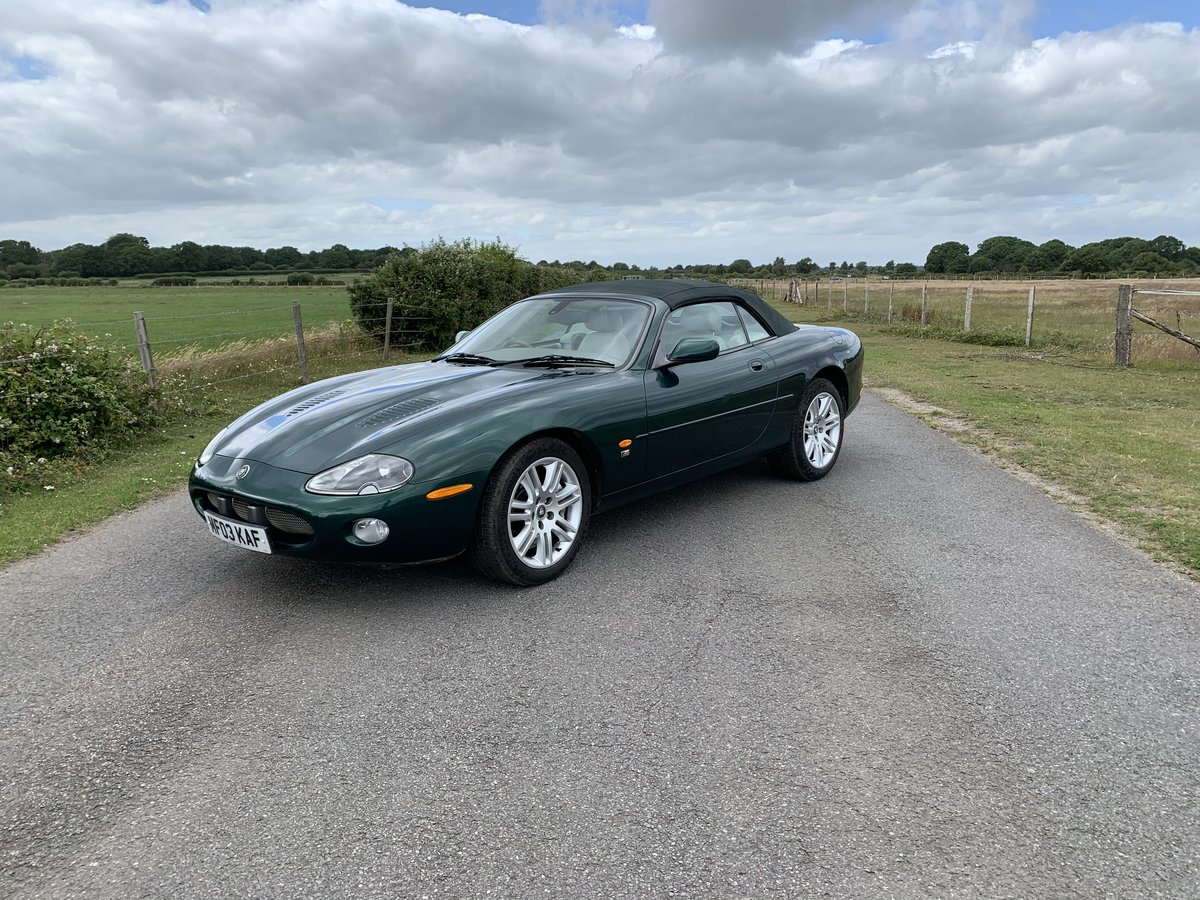 Jaguar XKR Convertible 4.2 2003 Only 43000 Miles  For Sale (picture 2 of 6)