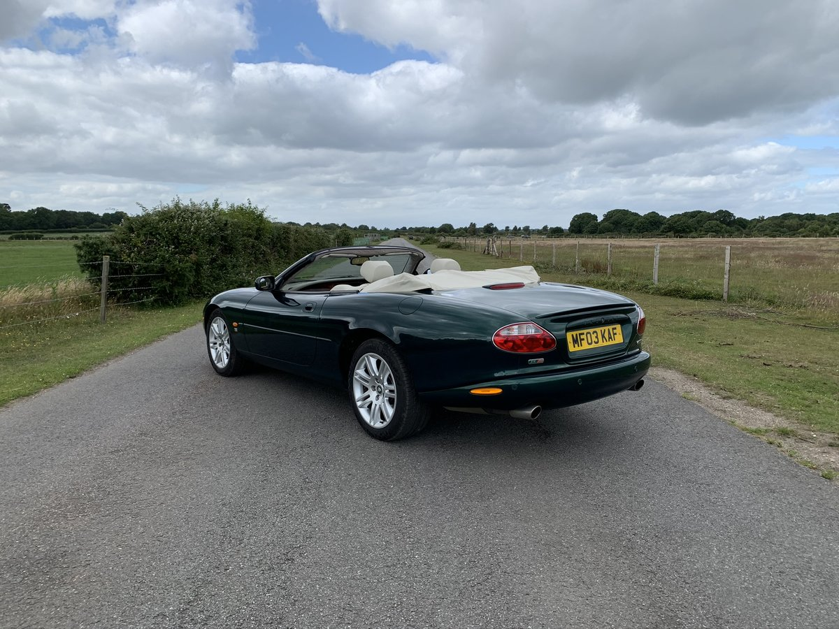 Jaguar XKR Convertible 4.2 2003 Only 43000 Miles  For Sale (picture 5 of 6)