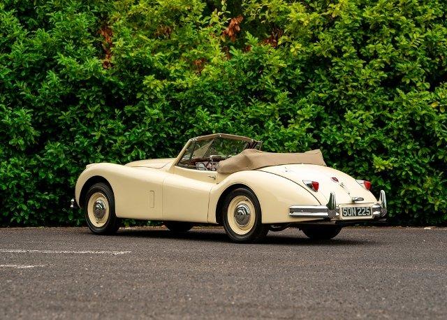 1955 Jaguar XK140 Drophead Coup SOLD by Auction (picture 2 of 6)