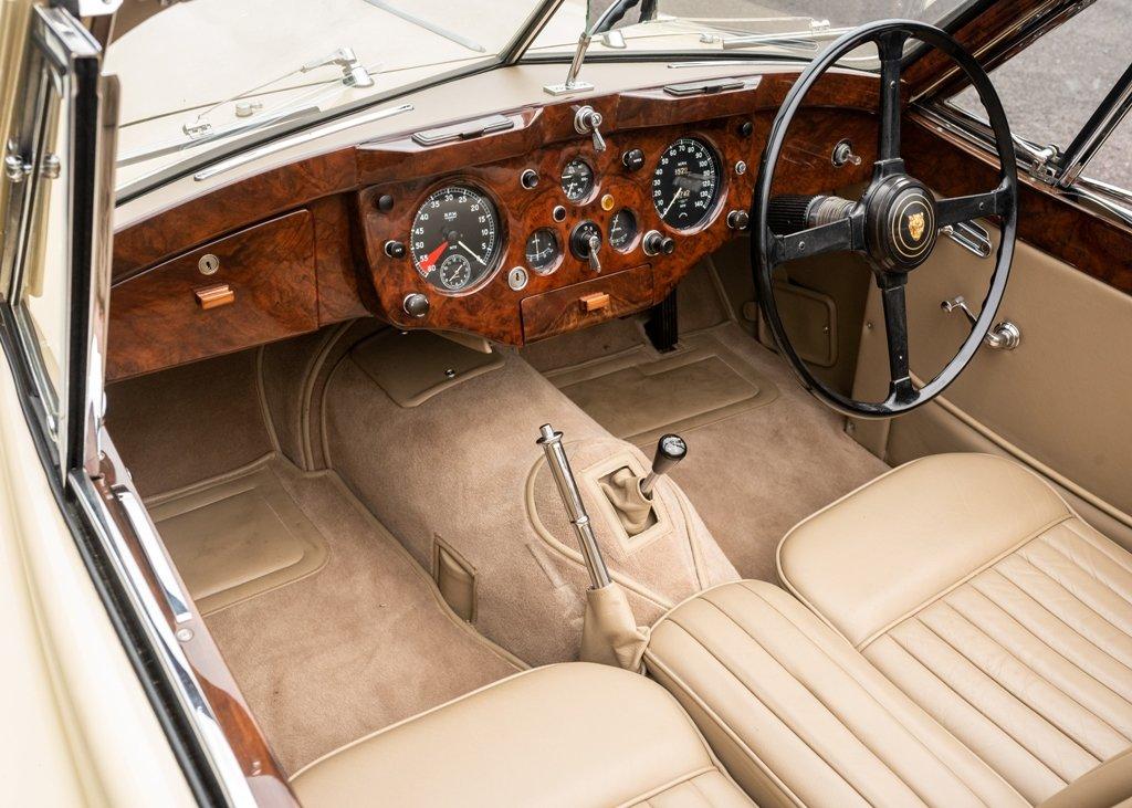 1955 Jaguar XK140 Drophead Coup SOLD by Auction (picture 4 of 6)